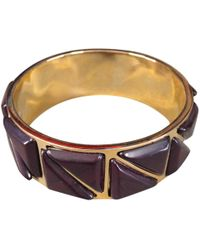 Etro - Gold Metal Bracelet - Lyst