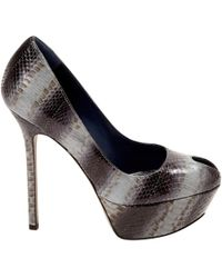 Sergio Rossi Exotic Leathers Heels Outlet Extremely fqL0J5
