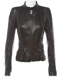 6ec246d1322e6 Haider Ackermann - Black Leather Leather Jacket - Lyst
