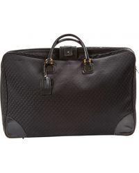 Loewe - Black Cloth Bag - Lyst