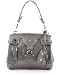 Ralph Lauren Collection - Green Leather Handbag - Lyst
