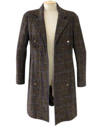 Chanel | Tweed Coat | Lyst