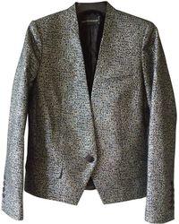 Zadig & Voltaire - Metallic Polyester Jacket - Lyst