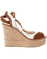 0022f01cdfd Ralph Lauren Collection - Leather Sandals - Lyst