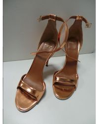 Givenchy - Pre-owned Pink Leather Sandals - Lyst