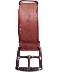 Lyst - Ceinture en cuir Hermès pour homme en coloris Neutre 77c71e85d28