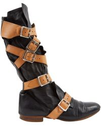 Vivienne Westwood - Pre-owned Black Leather Ankle Boots - Lyst