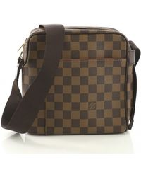 ec60f39f3cdc Louis Vuitton Cloth Small Bag in Brown for Men - Lyst