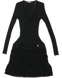 Roberto Cavalli - Pre-owned Black Viscose Dresses - Lyst