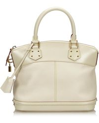 Louis Vuitton - Pre-owned Lockit Leather Handbag - Lyst 4201e82a16f1d
