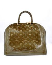 Louis Vuitton - Alma Patent Leather Bag - Lyst