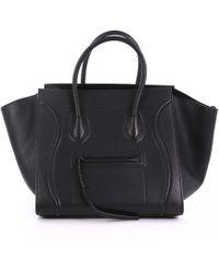 2cdc85fac48 Céline Luggage Phantom Tote Bag Kohl Grey in Gray - Lyst