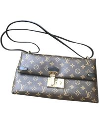 Louis Vuitton - Pre-owned Leather Handbag - Lyst