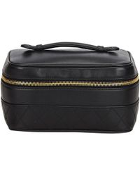 Chanel - Leather Vanity Case - Lyst