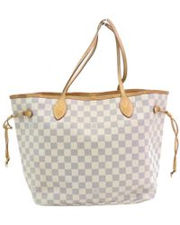 Louis Vuitton - Neverfull Leinen Shopper - Lyst