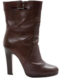 Pre-owned - Leather buckled boots Marni Top Quality Sale Online K1HpA