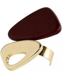 Tod's - Gold Metal Bracelet - Lyst