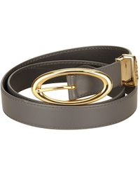 Dior - Pre-owned Leather Belt - Lyst