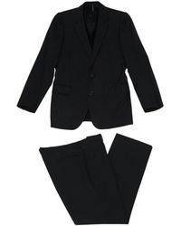 Dior - Pre-owned Anthracite Wool Suits - Lyst