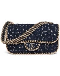 Chanel - Timeless Tweed Handbag - Lyst