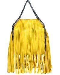 Stella McCartney - Falabella Yellow Synthetic Handbag - Lyst