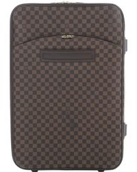 Louis Vuitton - Pre-owned Pegase Leather Travel Bag - Lyst