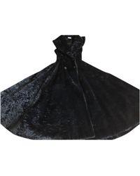 Alaïa - Faux Fur Coat - Lyst