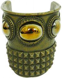 Jean Paul Gaultier - Pre-owned Vintage Brown Metal Bracelets - Lyst