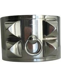 Hermès - Collier De Chien Silver Silver Bracelets - Lyst