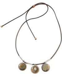 Marni - Pre-owned Leather Necklace - Lyst