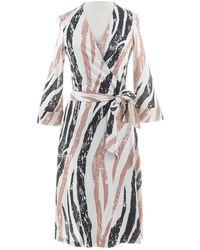 Diane von Furstenberg - Silk Mid-length Dress - Lyst