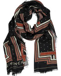 Givenchy - Pre-owned Wool Scarf - Lyst