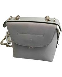 aca4bf8fc9d8 Lyst - Fendi Grey Mini Back To School Backpack in Gray