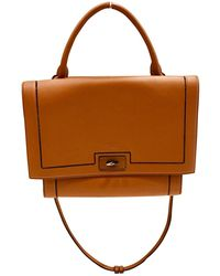 Givenchy - Pre-owned Shark Camel Leather Handbags - Lyst