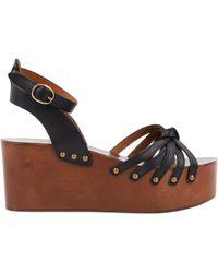 Étoile Isabel Marant - Pre-owned Leather Sandal - Lyst