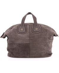 Givenchy - Nightingale Grey Leather Handbag - Lyst