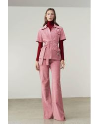 Victoria Beckham - Panelled Flare Trousers - Lyst