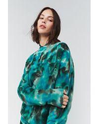 Victoria Beckham - Oversized Tie-dye Sweatshirt - Lyst