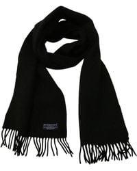 Burberry Echarpe laine noir
