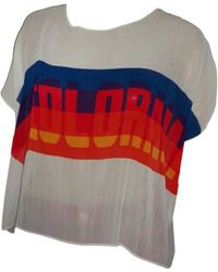 Sandro Top, tee-shirt polyester multicolore
