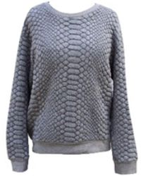Sandro Sweat acrylique gris