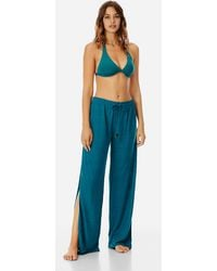 Vilebrequin - Women Flowing Linen Pants Solid - Lyst