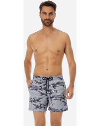 Vilebrequin - Moorea Belle Ou Gars Swim Shorts - Lyst