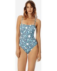 Vilebrequin - Women Bustier One Piece Swimsuit Oursinade - Lyst