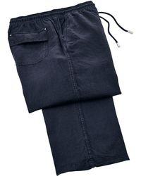 Vilebrequin - Men Linen Trousers Solid - Lyst