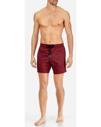Vilebrequin - Men Lightweight And Packable Swimtrunks Mini Fish - Lyst