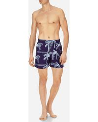 Vilebrequin - Men Swimwear Embroidered Palmiers - Limited Edition - Lyst