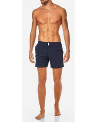 Vilebrequin - Men Short And Fitted Stretch Swimwear Solid - Lyst