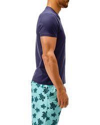 Vilebrequin - Men Mercerized Cotton T-shirt Solid - Lyst
