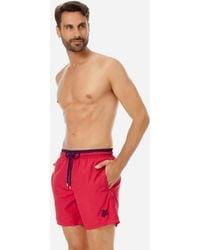 Vilebrequin - Men Ultra-Light and packable Swimwear Solid Bicolor - Lyst